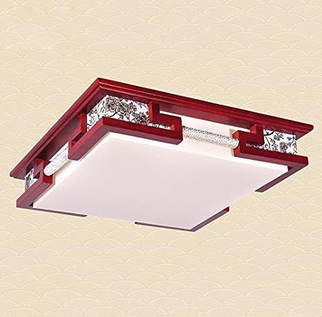 Lámparas chinas techo del LED moderna sala de estar lámpara ...