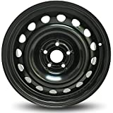 Road Ready Car Wheel For 2011-2017 Chevrolet Cruze 16 Inch 5 Lug Black Steel Rim Fits R16 Tire - Exact OEM Replacement - Full-Size Spare