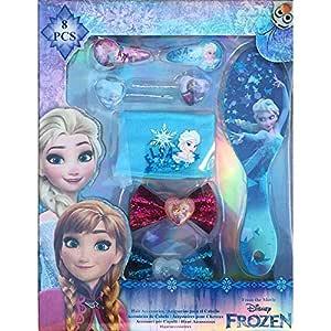 Disney Frozen- Set de 8 Accesorios para El Pelo (Kids WDFR181)