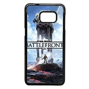 Star Wars Battlefront caso H4C28V4RC funda Samsung Galaxy S6 Edge Plus funda D4T17O negro