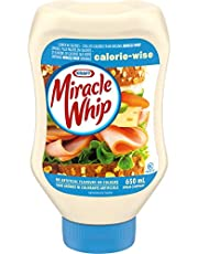 Miracle Whip Calorie-Wise Dressing, 650mL EZ Squeeze Bottle