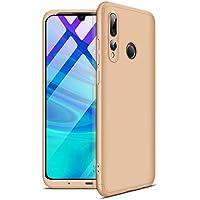 AILZH HandyHülle für Huawei P Smart Plus 2019/Huawei Honor 20 lite Hülle 360 Grad Anti-Schock Anti-Kratz Schutzhülle Stoßdämpfung Stoßfänger Stoßfest Shockproof Bumper Cover Case matt(Gold)