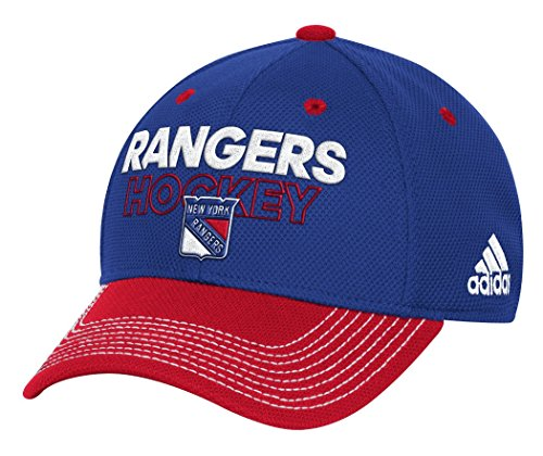 adidas New York Rangers NHL Authentic Locker Room Structured Flex Hat