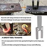 "Blacksmith Hardy Anvil Tool 7/8"" Hardy Turning"