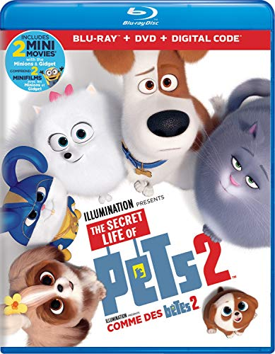 The Secret Life Of Pets 2 [Blu-ray + DVD + Digital] (Bilingual)