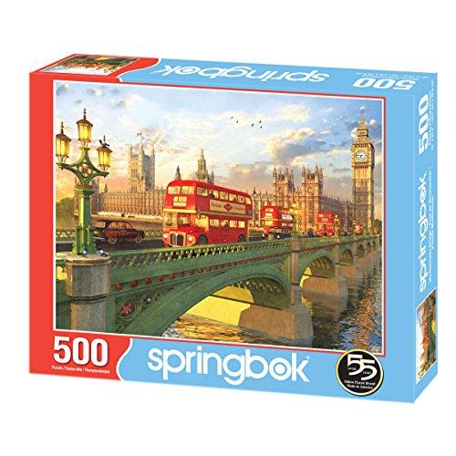 Review Springbok Westminster Bridge Jigsaw Puzzle (500 Piece)