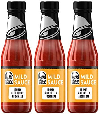 Taco Bell Mild Sauce, 7.5 oz, 3 pk by Taco Bell