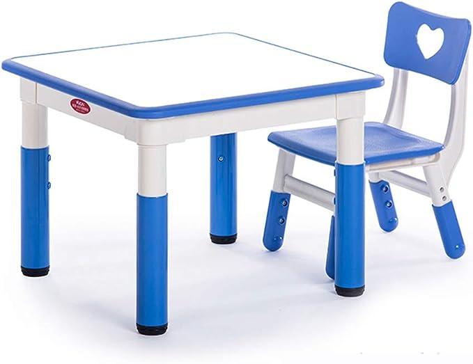Juego de Mesa y Silla para niños, Mesa de Dibujo de Juegos de ...