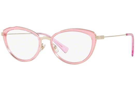 baeec79e2e2e Amazon.com: Eyeglasses Versace VE 1244 1404 PALE GOLD/PINK TRANSP ...