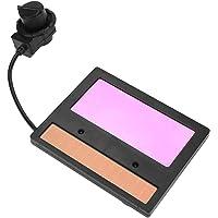 Zonne lashelm Lens, TX600C-lasmaskerlens, lasmasker Automatische verduisterende lens voor lassen en slijpen 110 * 90 mm