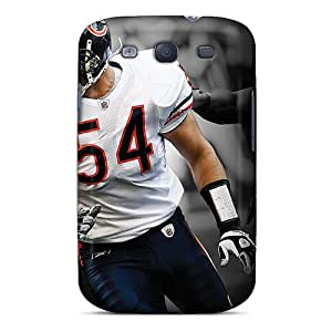 (Aiv3807yGNg)durable Protection Case Cover For Galaxy S3(chicago Bears)