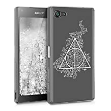 kwmobile Crystal TPU Silicone Case for Sony Xperia Z5 Compact in Design magical triangle white transparent