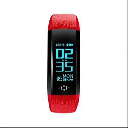 Reloj inteligente Bluetooth Relojes de pulsera de deporte,Monitor de Actividad,Rastreador de Ejercicios