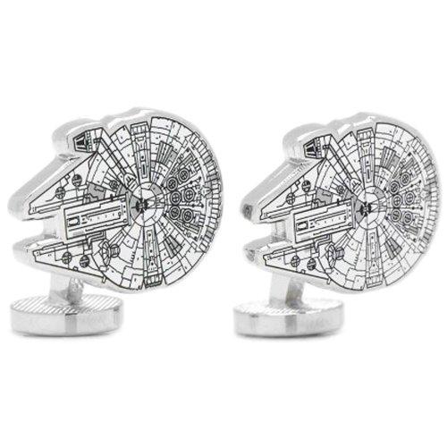 Cufflinks Star Wars Millenium Falcon Blue Print Cuff Links