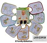 Baby Lätzchen Babylätzchen Latz 7 Tage Jacky