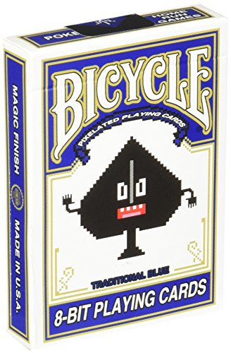 Bicycle 8-Bit Playing Cards, Blue