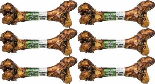 RedBarn Mammoth Beef Bone - 14 - 16 Inches - Net Wt 30 oz. (6-Pack)