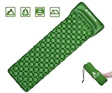 #7: Hikenture Backpack Sleeping Pad | Lightweight Camping Sleeping Bag Pad | Ultralight & Compact & Inflatable Air Mattress Pad-Insulated Air Mat | For Camp,Backpacking,Hiking,Scouts,Travel