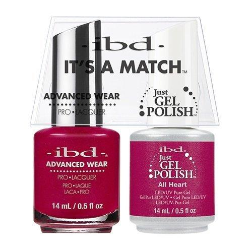 ibd Advanced Wear Color Duo All Heart #499 UV Gel Color
