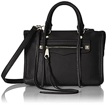Rebecca Minkoff Micro Regan Satchel, Black