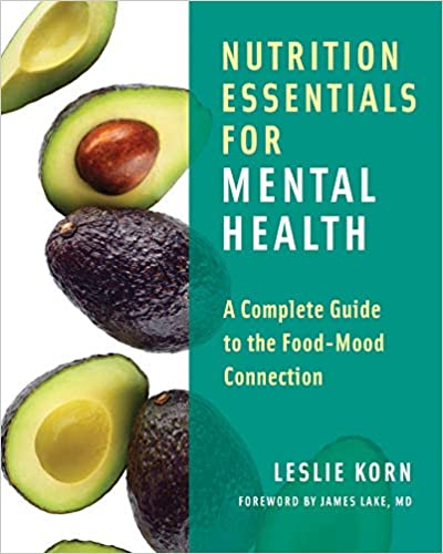 The picture of a book, illustrating Nutrition essentials for mental health.
