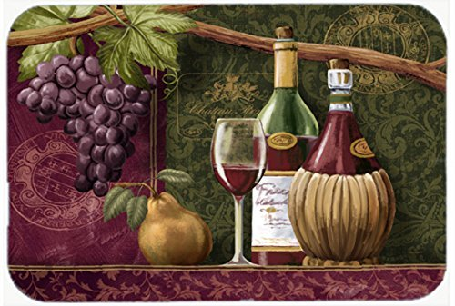 Caroline's Treasures PTW2044JCMT Wine Chateau Roma Kitchen or Bath Mat, 24 by 36', Multicolor [並行輸入品]   B0183BQWE0