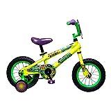 Teenage Mutant Ninja Turtles Boy's Bicycle, Yellow, 12