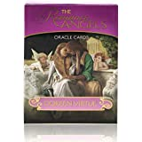 The Romance Angels Tarot Oracle Cards Deck|The 44 Romance Angel Oracle Cards by Doreen Virtue Rare Out of Print, New Gold-Pla