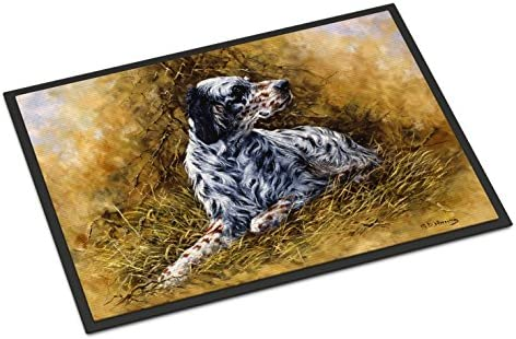 Caroline s Treasures HMHE0007MAT English Setter by Michael Herring Indoor or Outdoor Mat 18×27, 18H X 27W, Multicolor
