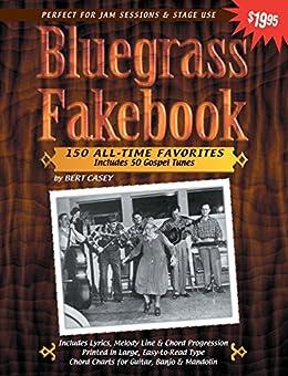 Bluegrass Fakebook Favorites Gospel Mandolin ebook product image