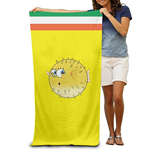 AGMPO Spong Fish Beach Towel For Adults / 31.5'' X 51.2''