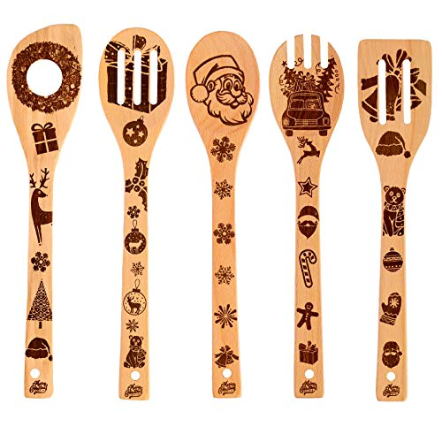 These utensils are so adorable with the decorations on them