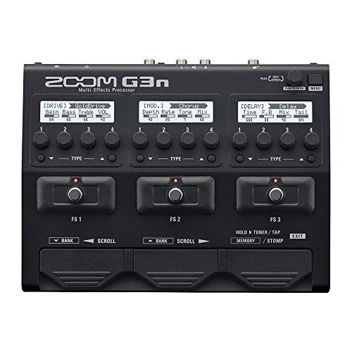 ZOOM 줌 기타용 멀티 이펙터 G3n
