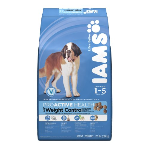 Iams Proactive Health Adult Weight Control Large Breed 17.5 Lbs