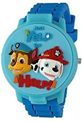Paw Patrol Kid's 3D Digital Watch with Pop-Up Face PAW4027
