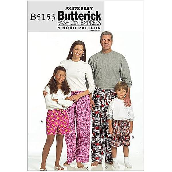 BUTTERICK #4483 MEN/'S /& LADIES WINTER BATHROBE /& PAJAMAS PATTERN  XSM-MED  FF
