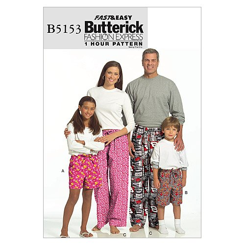 Butterick Patterns B5153 Misses