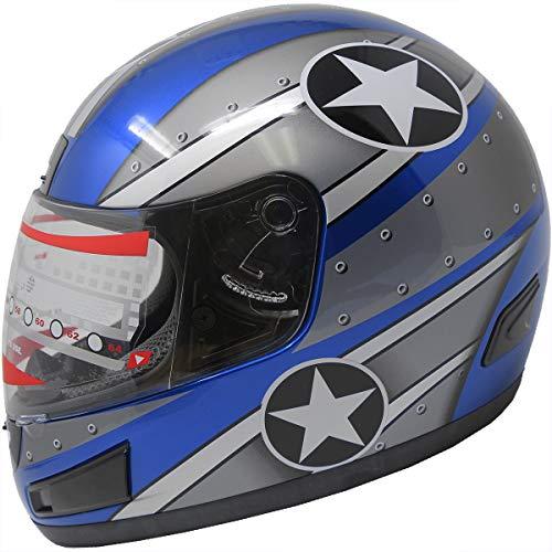 Motorcycle Helmet DOT Full Face sports Bike