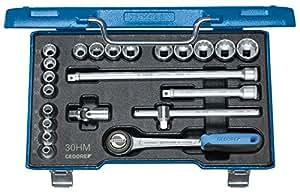 """Gedore D 30 HMU-3 - Juego de llaves de vaso 3/8"""" 22 pzas UD 6-22 mm"""