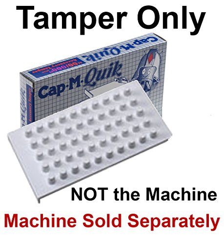 Tamper Accessory - Part Only - Cap m Quik 00/000 fits both size 00 & 000 + Plus - Refrigerator Magnet