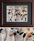 Don Larsen, Johnny Podres, & Dustry Rhodes PSA/DNA Signed Inscribed WS MVP's Framed Photo-8x10