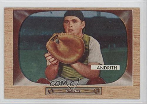 hobie-landrith-baseball-card-1955-bowman-base-50