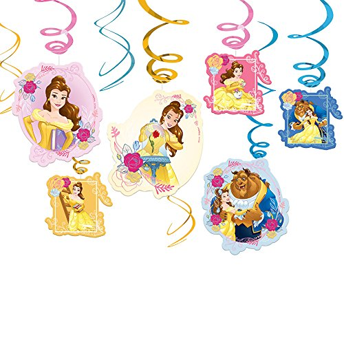 Beauty and the Beast Hanging Swirls (12 -