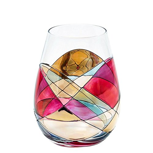 ANTONI BARCELONA Stemless Wine Glass - SET 1 - Unique Hand P