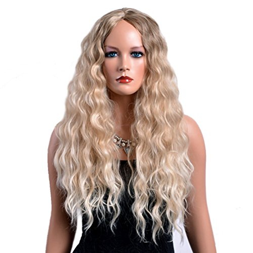 Extra Long Curly Wig - 7