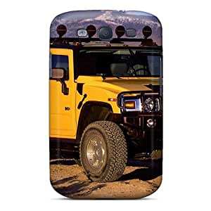 For GUe2159TZaG Yellow Hummer H Wide Protective Case Cover Skin/galaxy S3 Case Cover