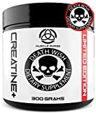 Cheap _ Anabolic Creatine by Death Wish Supplements,Monohydrate,Micronized Powder for Fast Absorption, Zero Sugar, Zero Sodium & Zero Fillers, 5000mg per Scoop,Creatine Unflavored,Gold Standard Performance
