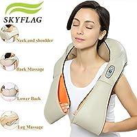 SkyFlag Multi-Functional Neck & Shoulder Kneading Massager