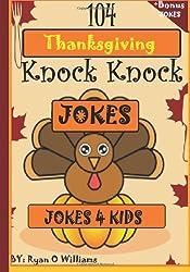 104 Funny Thanksgiving Knock Knock Jokes 4 kids: Best knock knock jokes