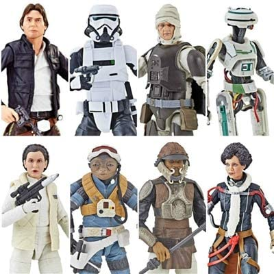 "HASBRO STAR WARS BLACK SERIES 6/"" inch FIGURES AST Wave 6 2018 VAL L3-37 QIRA HAN"